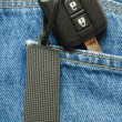 Key pocket — Stock Photo