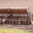 Old planter in the field — Stock Photo