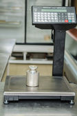 Scales in the shop — Stock Photo