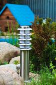 Lanterne dans le jardin — Photo