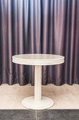 White round table — Stock Photo