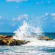 Waves on the sea — Stock Photo
