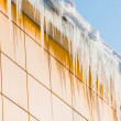 Stock Photo: An icicle in the sun