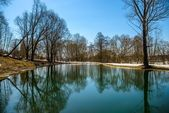 Lake in early spring — Stock Photo