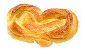 Broodje besprenkeld met — Stockfoto