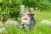 Lantern in the garden — Stock fotografie
