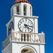 Tower with a clock — Stock Photo