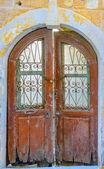 Old wooden door — Стоковое фото