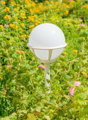 Lantern in the garden — Foto Stock
