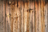 Part of the wall of the old rough wood texture — Foto Stock
