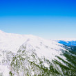Stock Photo: Winter landscape of snow-capped mountains Pirin