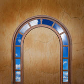 Open door to the sky — Stock Photo