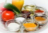 Spice seasoning — Stockfoto