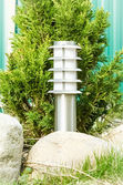 Lanterna in giardino — Foto Stock