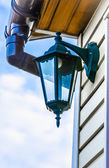 Lantern on the wall — Stock Photo