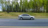 Auto en movimiento — Foto de Stock