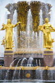 """Fountain """"Friendship of Peoples"""" — Stock Photo"""