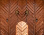 The Wooden Door — Stock Photo