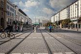Tram Lines — Stock Photo