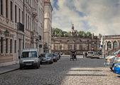 Street Scene Prague — Stock Photo
