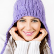 Royalty-Free Stock Photo: Beautiful young woman ready for winter