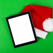 Tablet computer Christmas concept — Stock Photo #34966273