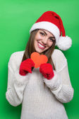 Christmas time is perfect for love — Stock Photo
