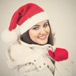 Mrs Santa — Stock Photo
