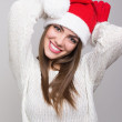 Christmas happy girl having fun — 图库照片 #36778247