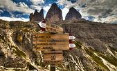 Między szczytami i trasy — Zdjęcie stockowe
