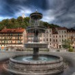 Beautiful fountain — Zdjęcie stockowe #14169935