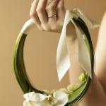 Arty bride — Stock Photo