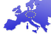 European union map — Stock Photo