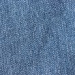 Blue jeans fabric texture background — Stock Photo