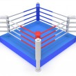 Boxing ring. High resolution 3d render. — Stock Photo