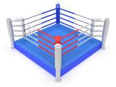 Boxerský ring. vysoké rozlišení 3d vykreslení. — Stock fotografie