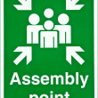 Assembly point — Stock Photo