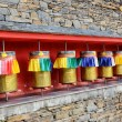 prayer wheel — Stock Photo