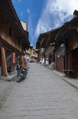 Chinese ancient streets — Stock Photo