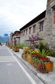 Flower street — Stock Photo