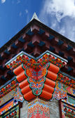 Tibet building — Stock Photo