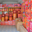 Stock Photo: Firecracker shop