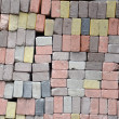 Color brick wall — Stock Photo #14744637