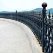 Iron railing — Stock Photo