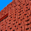 Stock Photo: Building red abstract