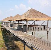 Small fishing village — Stock Photo