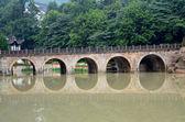 Chinese classical arch bridge — Stock Photo