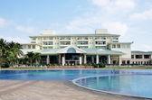 Villas with pool — Stock Photo