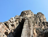 Angkor stone portrait — Stock Photo