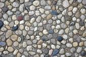 White stones and black stones — Stock Photo